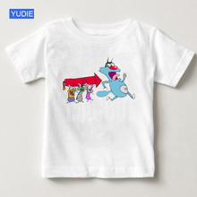 Oggy and The Cockroaches 2019 T-shirt, Girls Boys Childrens Summer Shirt Color T Baby Boy Clothes YUDIE