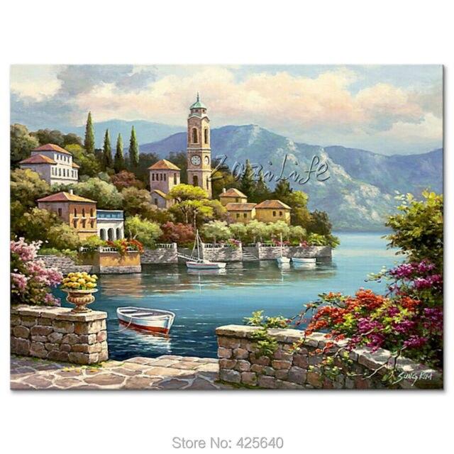 Beautiful dipinti di paesaggi marini gallery for Quadri dipinti a mano paesaggi