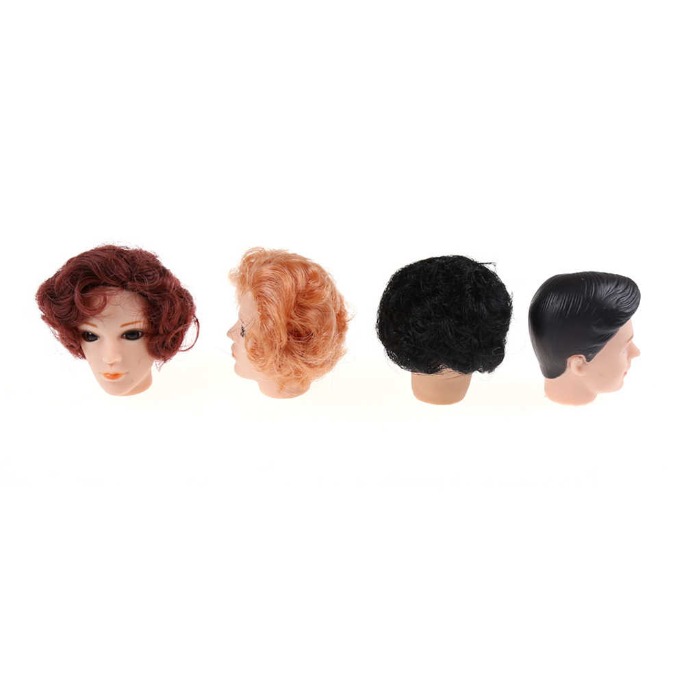 ZTOYL MINI Kawaii 3D Supersize ตุ๊กตาหัว HairFor Ken ตุ๊กตาหัวตุ๊กตาของเล่นตุ๊กตาสำหรับสาวแฟนอุปกรณ์เสริม