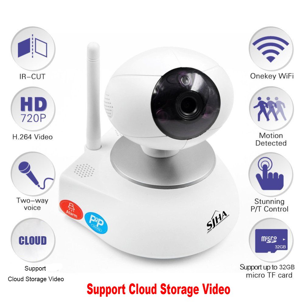 Wireless Security Camera HD Indoor WiFi Surveillance with Motion Detection Pan/Tilt Two Way Audio Night Vision Baby Monitor fghgf 720p wireless ip security camera baby pet video monitor home security system with pan and tilt two way audio night vision
