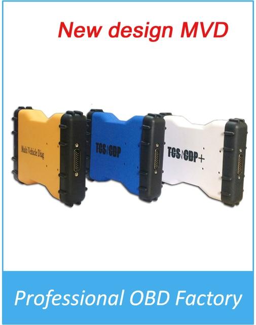 2016Top продажи Mulit Автомобиль Diag МВД TCS Pro LED АВТОМОБИЛЕЙ + TRUCK + Generic 3 В 1 больше цвета выбрать Нет Bluetooth