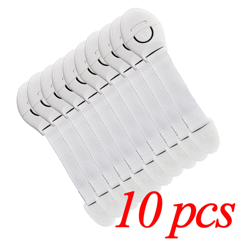 10pcs cabinet door drawers refrigerator toilet safety locks for kids ZF