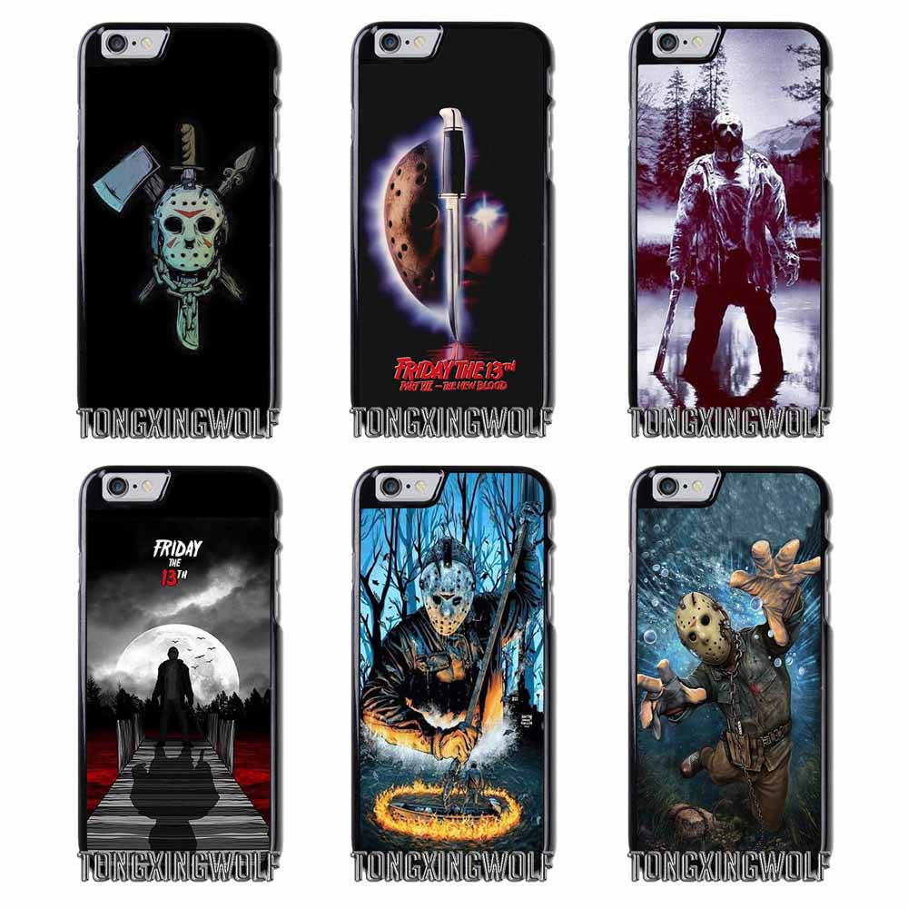 jason vorhees friday the 13th Cover Case For Samsung S4 S5 S6 S7 S8 Eege Plus Note 2 3 4 5 8 Huawei honor P8 P9 P10 Lite