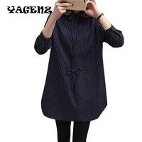 Plus size 5XL Large size Women Shirt New 2017 Spring autumn Loose Little fat sister Shirt Han Edition Cardigan Women Shirt