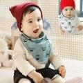 2016 High-quality Cotton Newborn Baby Bibs Waterproof Bandana Triangl Bib Towel Scarf Baby Boy And Girl Stuff Muslin Cloth