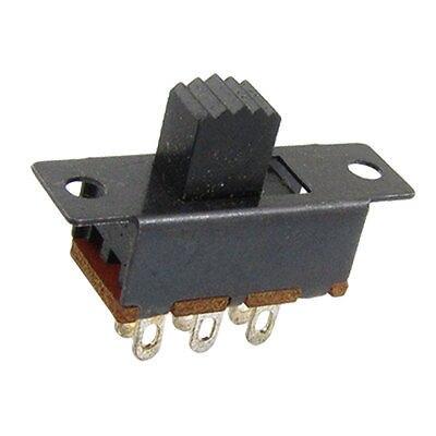100 Pcs Dc 50v 0.5a 2 Position Dpdt 2p2t Pcb Mount Vertical Slide Switch 6 Pin Dip Ss22f04 Convenience Goods Home Appliances Home Appliance Parts