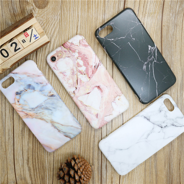 Fashion Marble Phone Case for iphone 6 s 6Plus 8 X 6s 7 7Plus 10 apple 6s i6 iPhoneX Silicon Black Pink TPU Cover Fundas Capa