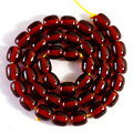 Dark red resin amber hot sale 8X9mm 9X11mm 10X13mm hot sale spacers accessories loose beads wholesale jewelry making 15 inch B71