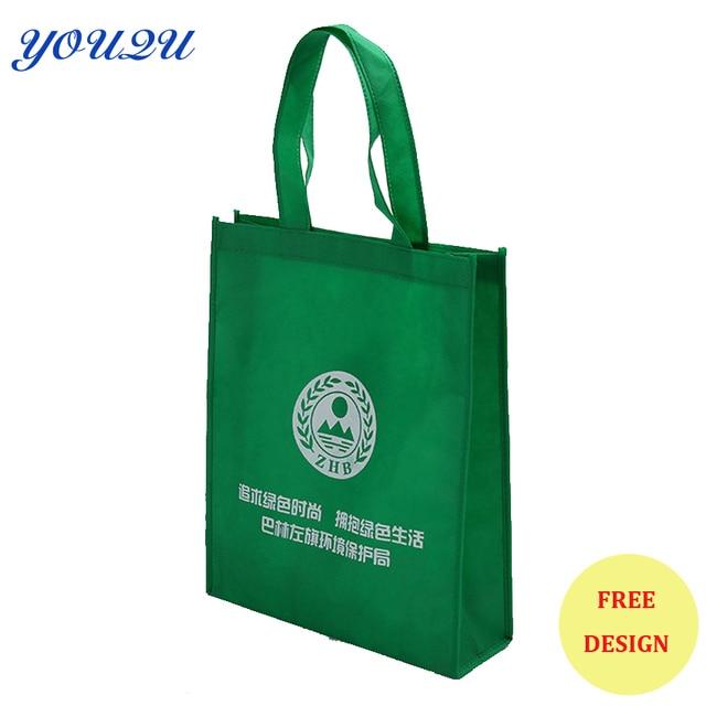 US $460 0 |Custom non woven bag & shopping bag,non woven polypropylene  bag,non woven fabric bag+ Low price+escrow accept-in Shopping Bags from  Luggage
