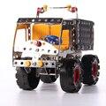 Alta Qualidade 194 pcs Blocos de Construção de Brinquedos Educativos Para Crianças DIY Brinquedos Carros de Metal Hot Wheels Modelo de Tijolo 3D Designer oyuncak