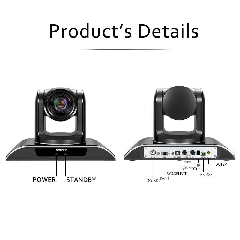 VHD30N 3MP 30X Zoom PTZ caméra d'intérieur HD1080P 3G-SDI caméra vidéo de sortie HDMI pour salle de conférence télé-médicale - 6
