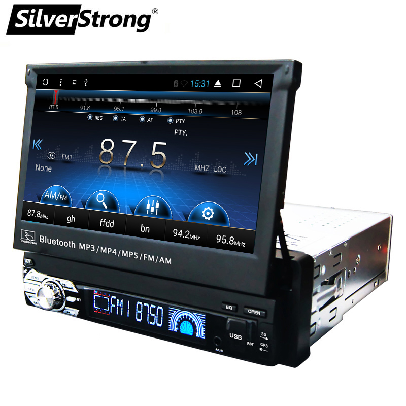 SilverStrong pulgadas 1Din Android