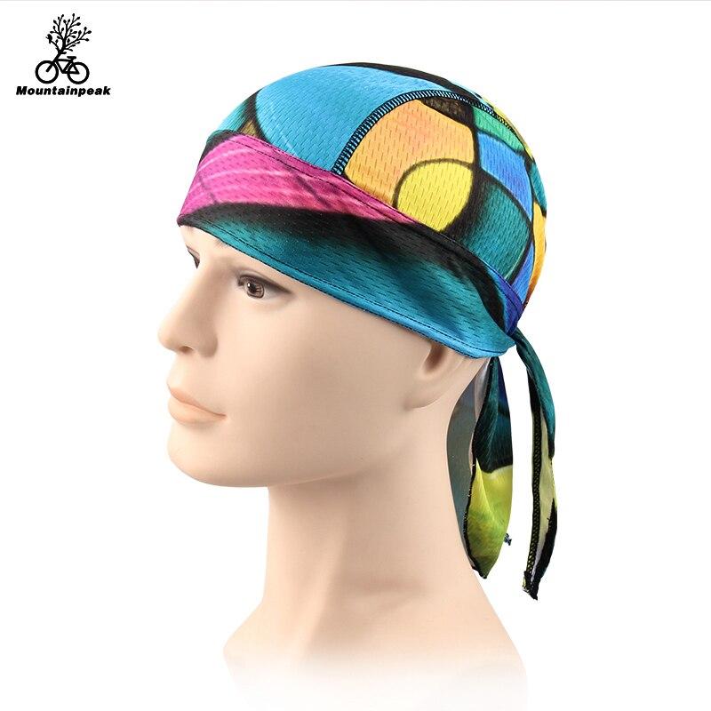 Mountainpeak Breathable Multi Function Man Women Bicycle Hat Headscarf Cycling Cap Bandana Hood MTB Headband Head Scarf