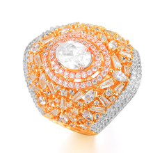 SISCATHY 2019 Romantic Charms Wide CZ Rings for Women Noble Symbol Birthday Anniversary Party Wedding Fashion Jewelry