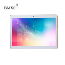 "BMXC Tabletas de 10 Pulgadas 3G Android Phablet PC Tab Pad 10 ""IPS 1280×800 MTK Quad Core 2 GB RAM 32 GB ROM Dual SIM Card WIFI Bluetooth"