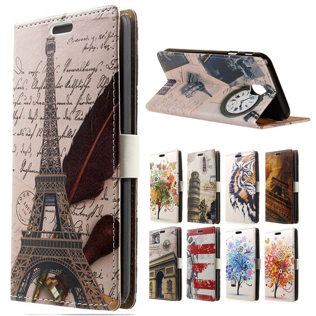 For galaxy J6 2018 Case Tower Leather Wallet Flip Cove for Samsung galaxy  J6 2018 J600 SM-J600F Mobile Phone Bag Cases Coque c9f60e7096d3