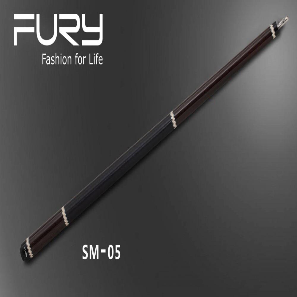 Fury Pool Cue Model SM-05 11.75mm/12.75mm Tip (optional) Luxury Pool Billiards stick 2017 poinos break pool cue punch