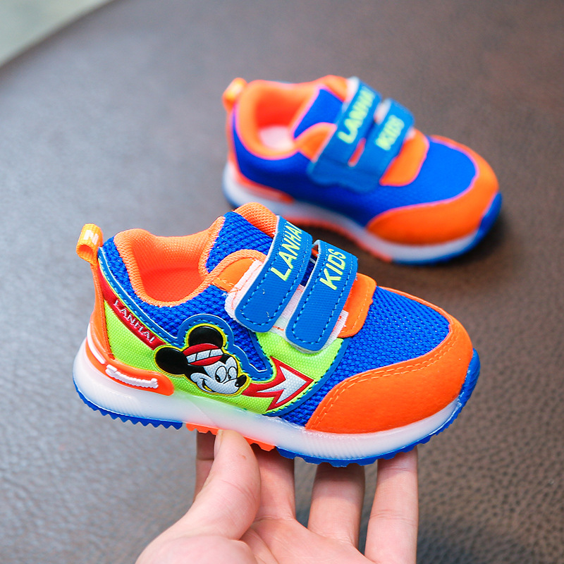 Hook&Loop fashion 2018 baby casual shoes unisex all seasons cool baby sneakers fantastic ...