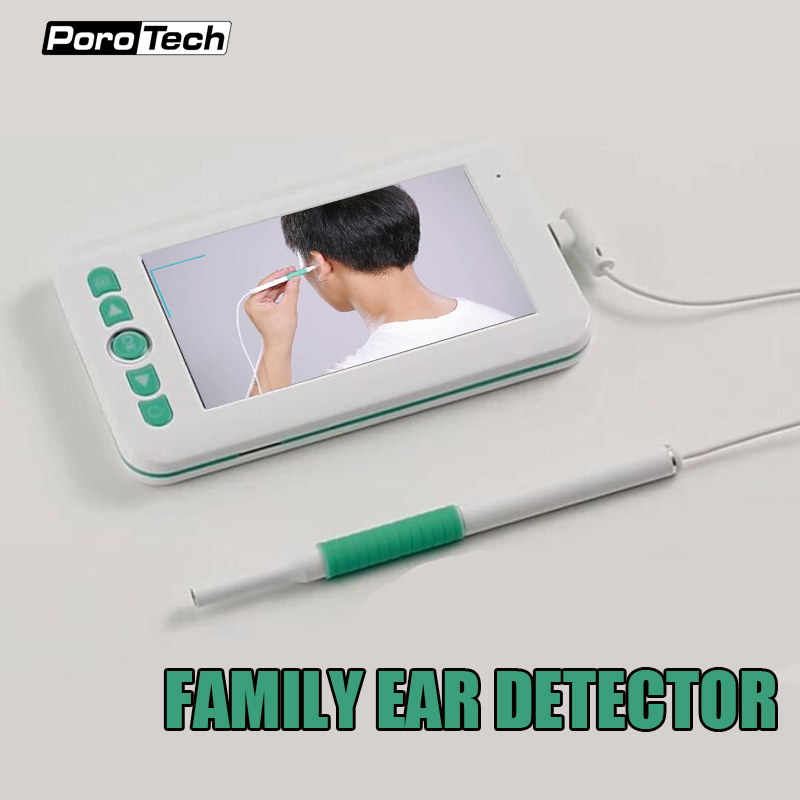IM209 4.3 pouces écran visuel + endoscope oreille détecteur oreille nettoyage Endoscope 2MP oreille Otoscope caméra d'inspection