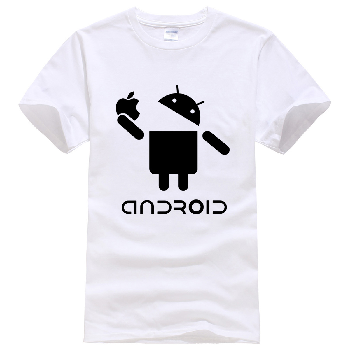 Android character pattern summer 2018 T-shirt cotton new hot sale mens T-shirts fashion casual t shirt harajuku crossfit brand