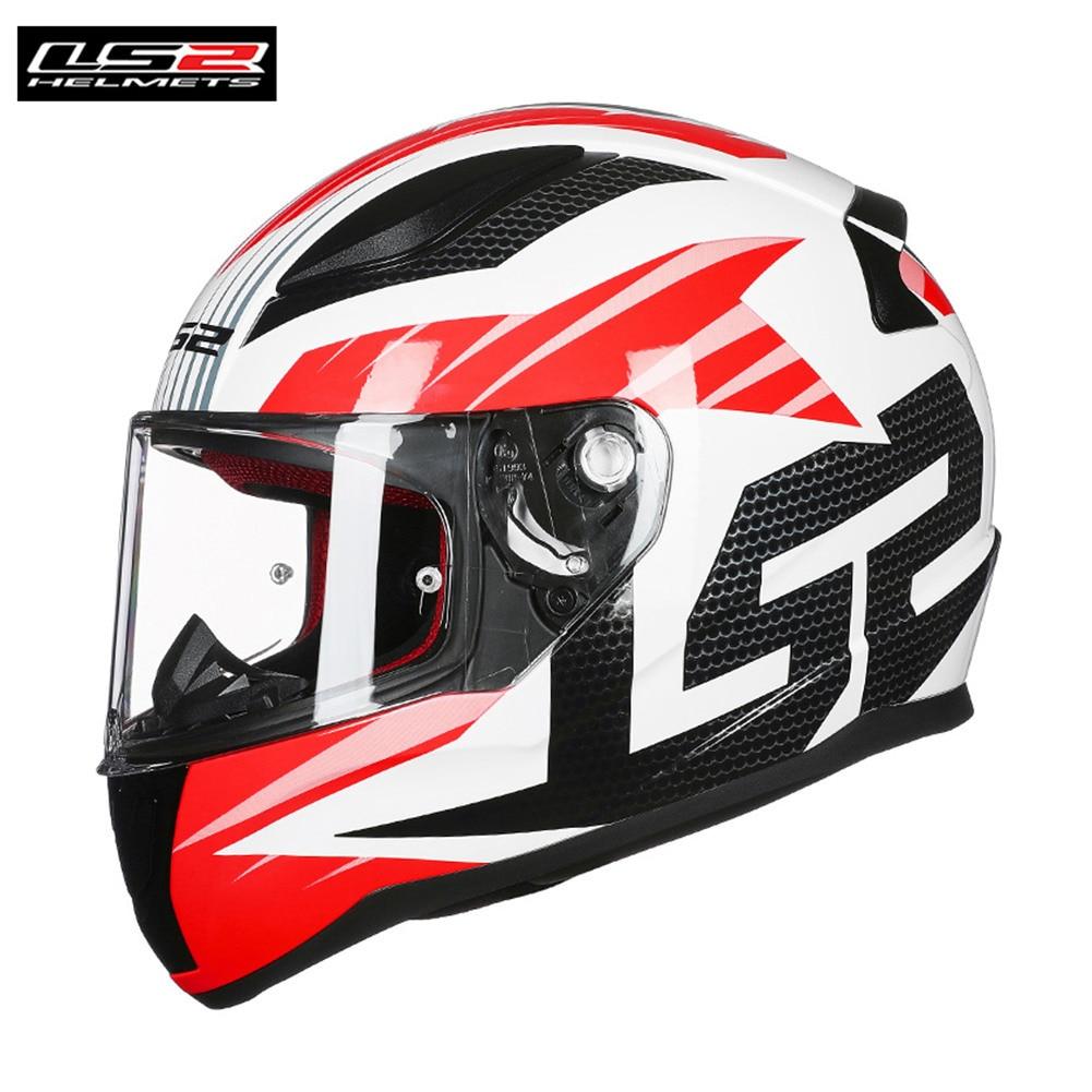 LS2 Rapid Helmet DEADBOLT GRID Motorcycle Helmet Capacetes de Motociclista Casco Moto FF353 original ls2 ff353 full face motorcycle helmet high quality abs moto casque ls2 rapid street racing helmets ece approved