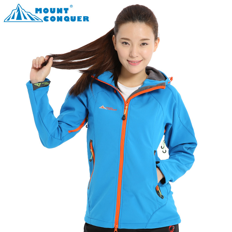 women hiking jackets outdoor sport camping softshell hiking thermal windproof autumn and winter to keep warm waterproof hiking