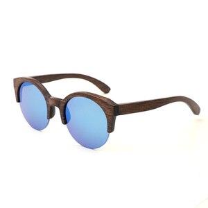 Image 3 - BerWer Marrone Colore di Bambù Occhiali Da Sole Da Uomo occhiali Da Sole di Legno Delle Donne di Marca di Occhiali In Legno Oculos de sol masculino