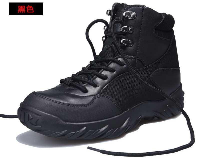 Hot Men's Jungle Boot Desert Tactical Combat Boots Outdoor Hiking Shoes Army Military Boots Free Shipping S3092
