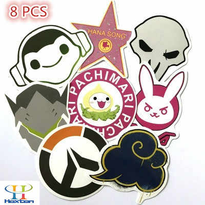 Overwatch DVA car stickers Creative anti-scratch waterproof stickers
