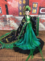 12 Handmade Collectible Chinese Dolls Beautiful Girl Dolls Ancient Costume BJD Doll Christmas/Birthday Gifts