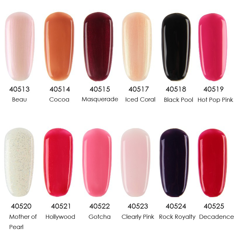 10pcs Lot Soak Off Cnd Shellac Uv Led Nail Gel Polish Total 116colors The Best Quality For Salon In From Beauty Health On