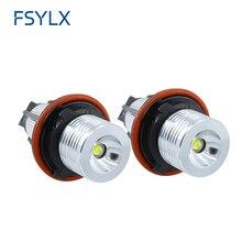 FSYLX Angel Eyes Demon eyes light car Auto Lamp 12V For BMW E39 E53 E60 E61 E63 E64 E65 E66 E83 E87 canbus no error headlight
