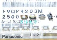 50PCS/LOT EVQP4203M SMD touch button switch, 3*6 side button, imported original