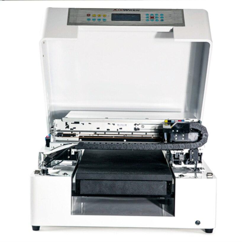 wood, glass, pen, phone case printing machine uv printer AR LED mini4