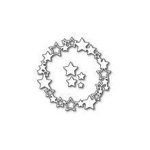 Eastshape Circle Star Metal Cutting Dies 83*83mm Stitch Die Cut Scrapbooking Bunny Craft New 2019 Stencil Scrapbook