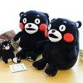 Presente para o bebê 1 pc 35 cm Kumamoto macio urso de pelúcia lindo mochilas estudantes bonito ombro saco Mochila de viagem menina senhora brinquedo