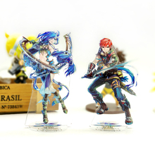 Love Thank Ys VIII 8 Lacrimosa of Dana Adol Christin Dan acrylic stand figure model double-side plate holder topper anime GAME