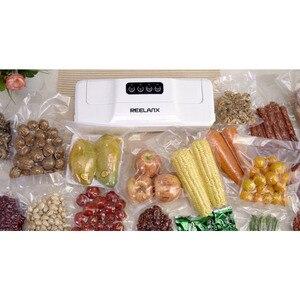 Image 2 - Sacchetti sottovuoto REELANX 2 rotoli 28*500cm per confezionatrice sottovuoto per alimenti