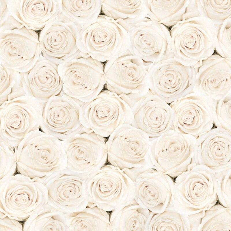 White flower roses wedding photography backdrop studio for White wedding wallpaper