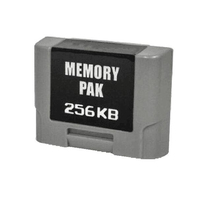 258KB Controller Pack Expansion Memory Card For N64 Controller