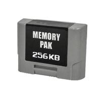 Paquete de controlador de 258KB, tarjeta de memoria de expansión para controlador N64
