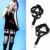 Moda Productos Suspensorio 1 par 2016 Nueva Sexy Punk Gótico Harajuku Tirantes de Cinturón Hecho A Mano Anillo de La Pierna Para Las Mujeres Regalo