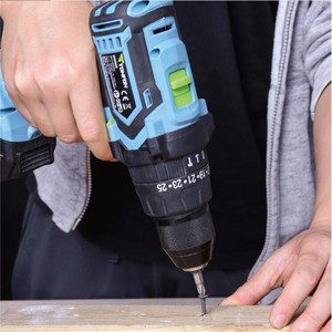 Image 3 - Youpin Tonfon Wireless Electric Cordless Drill Impact Power Driver 12/20V 2000mAh Battery 2 Speed EU Adapter For Home Work