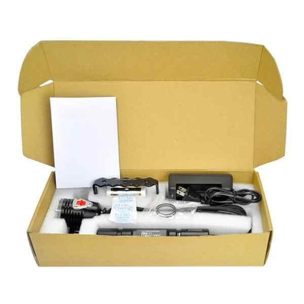 ARCHON DH26 WH32 dalış far CREE XM-L U3 3 modlu 1100LM kutu dalış el feneri 2*26650 pil ile
