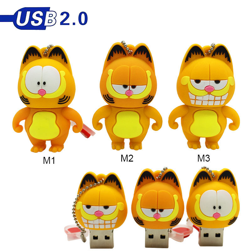 Clé USB 2.0 en forme du chat Garfield