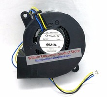 New Original C6-6023L-12 DC12V 70mA 60x23MM for Projetor Blower cooling fan new japanese original authentic sy5220 5lzd c6