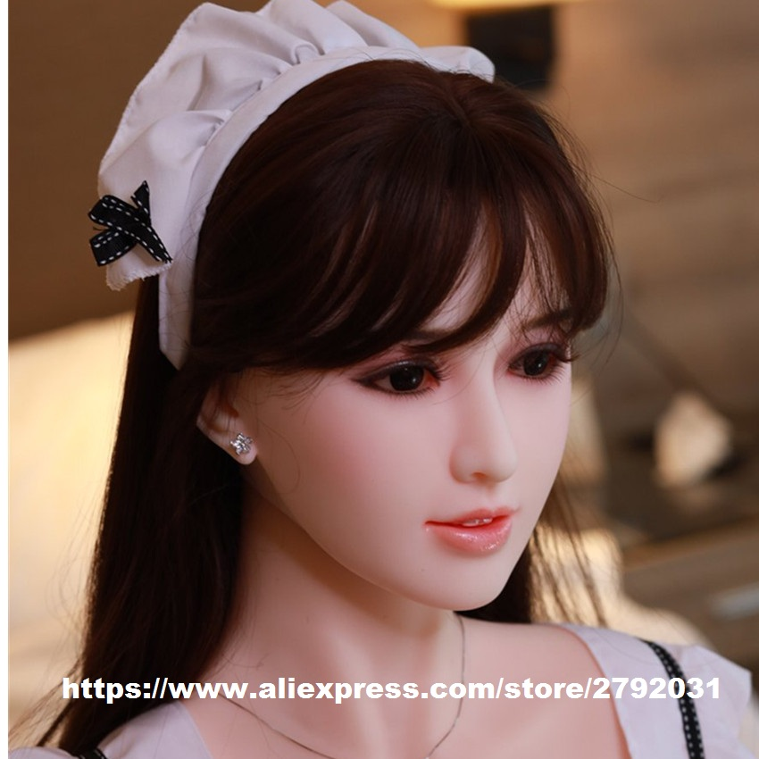 TPE Head For Silicone Real Sex Dolls Oral Love Doll Heads Sexy Toys fit Adult Sex Doll Body for Men JY Sex Doll HeadTPE Head For Silicone Real Sex Dolls Oral Love Doll Heads Sexy Toys fit Adult Sex Doll Body for Men JY Sex Doll Head