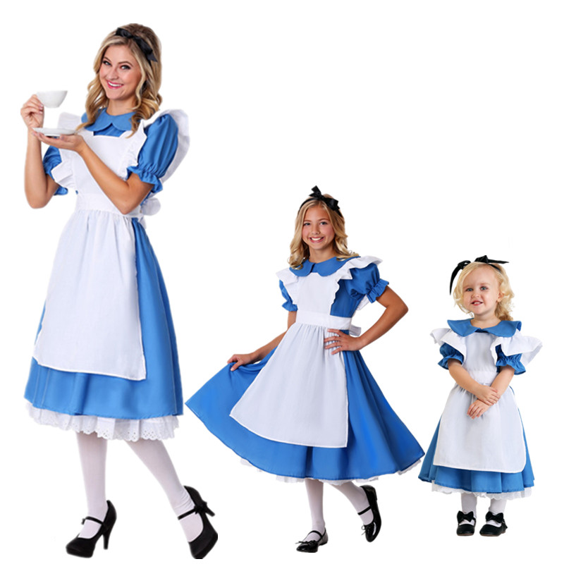 New heavy PVC sissy maid Alice dress