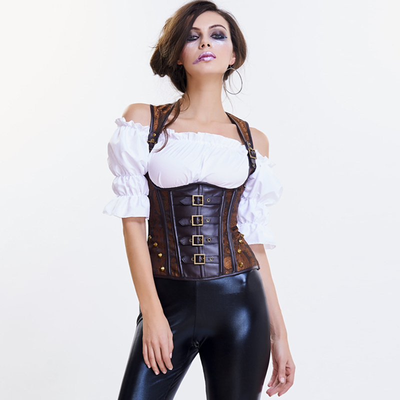 Gothic   Bustier     Corset   Slimming Shaper Body Shapers Women Palace   Corset   Gothic clothing Steampunk Corselet   Corset   Waist trainer