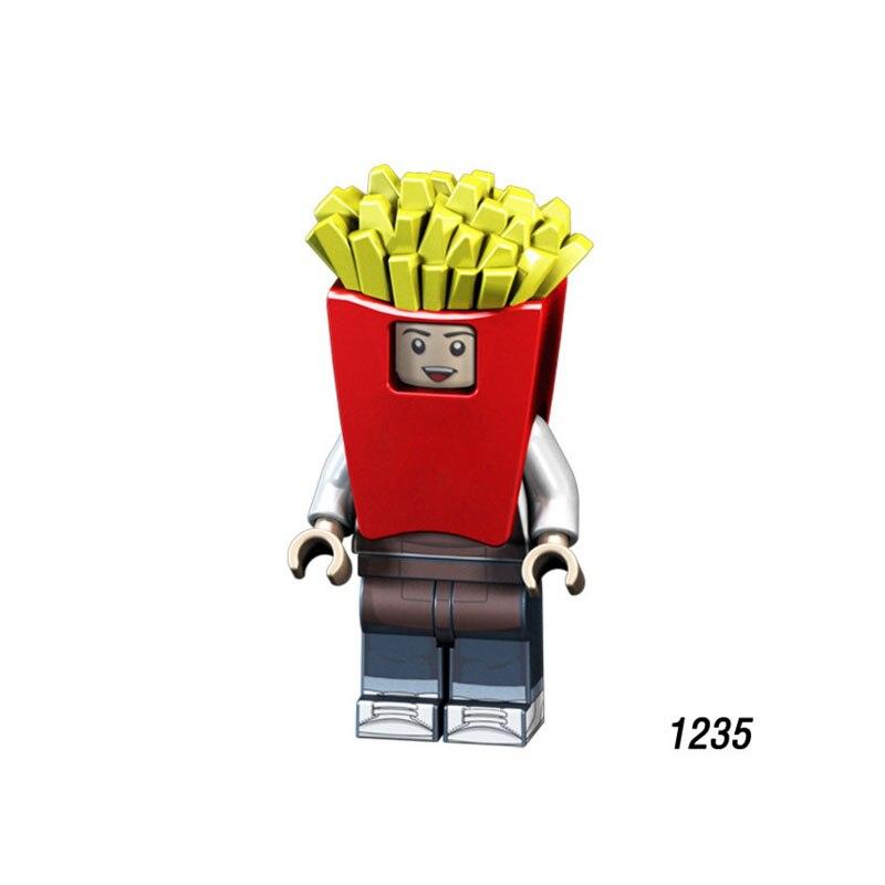 Одной продажи супер героев Звездных Войн 1235 картофель фри Мини Строительные блоки Фигура кирпичи игрушки подарок для ребенка Совместимост...